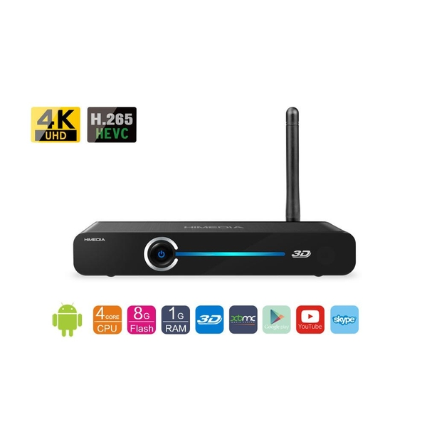 Android TV Box HIMEDIA Q3 IV - QUADCORE, 3D, 4K