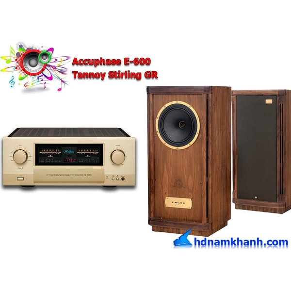 Bộ nghe nhạc Accuphase DP-600 + Loa Tannoy Stirling GR