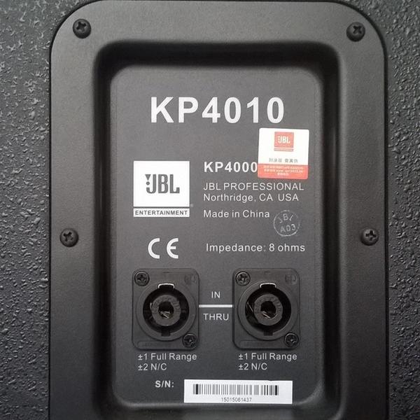 Loa JBL KP4010 | Loa karaoke chính hãng, giá tốt NHẤT | ÂM THANH AHK