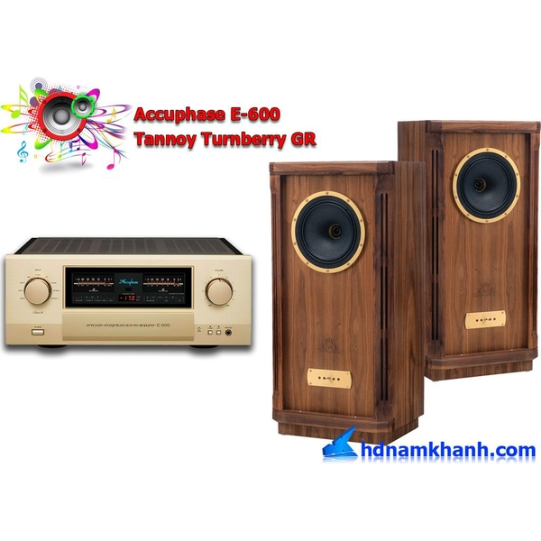 Bộ nghe nhạc Accuphase DP-600 + Loa Tannoy Turnberry GR