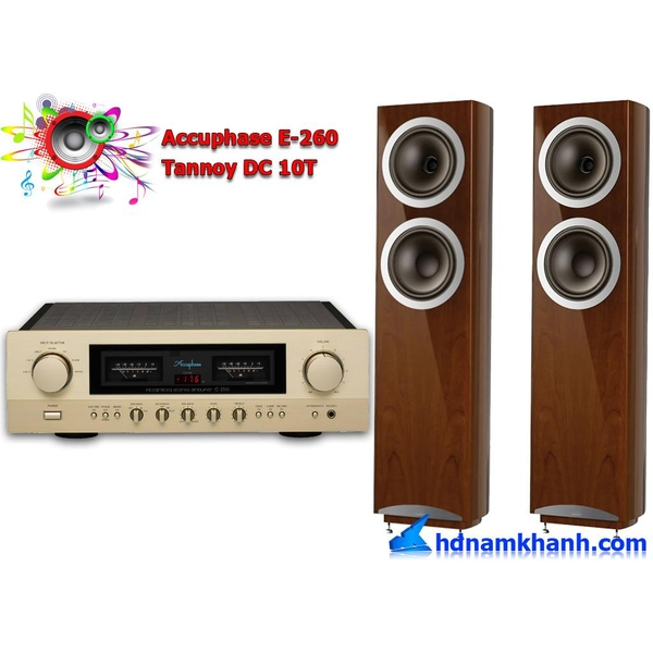 Bộ nghe nhạc Amply Accuphase E-260 + Loa Tannoy DC 10T