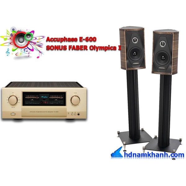 Bộ nghe nhạc Accuphase DP-600 + Loa SONUS FABER Olympica I
