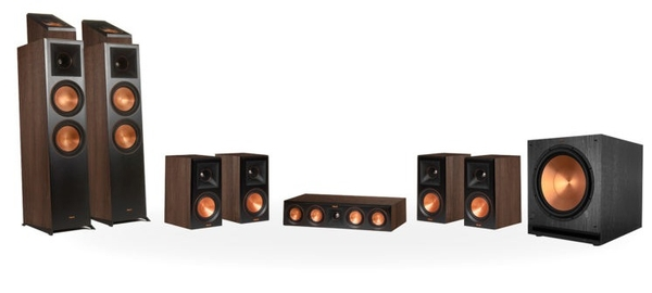 Bộ Loa Klipsch RP-8000F 7.1.2 DOLBY ATMOS® HOME THEATER SYSTEM
