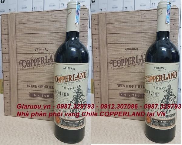 Kết quả hình ảnh cho vang chile copperland