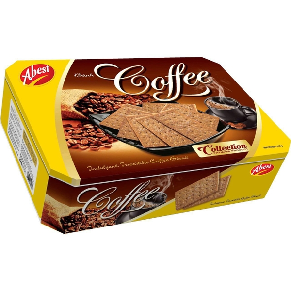 Abest - Indulgent Irresistible Coffee Biscuits - Premium Product