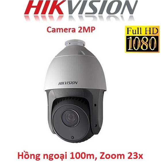 CAMERA HIKVISION 2MP DS-2AE4223TI-D SPEED DOME, ZOOM 23X