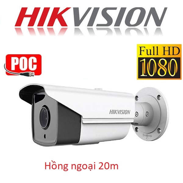 CAMERA HIKVISION 2MP DS-2CE16D0T-IRE HỖ TRỢ POC