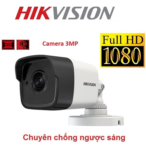 CAMERA HIKVISION 3MP DS-2CE16F7T-IT CHỐNG NGƯỢC SÁNG