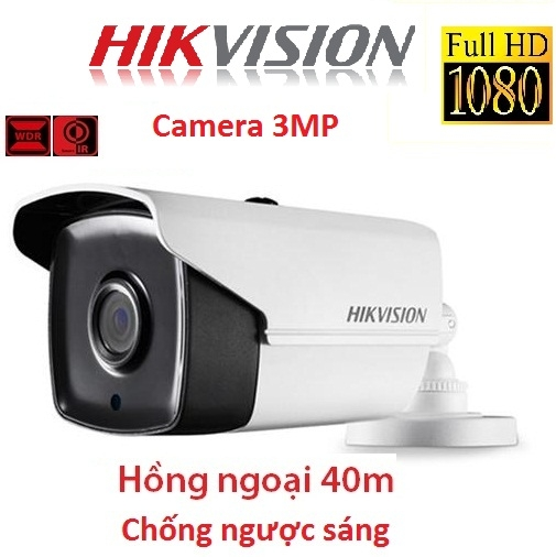 CAMERA HIKVISION 3MP DS-2CE16F7T-IT3 CHỐNG NGƯỢC SÁNG