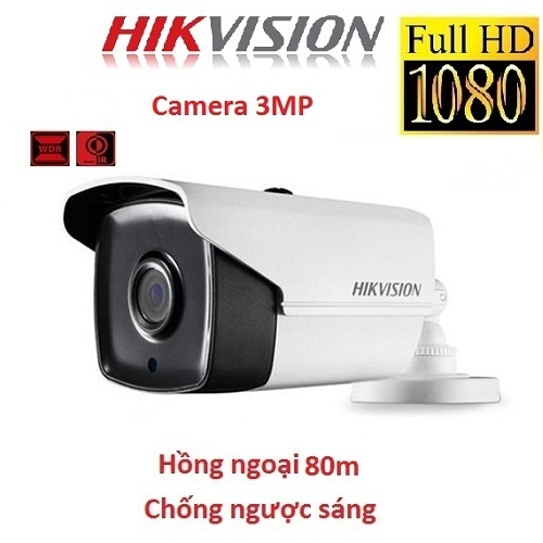 CAMERA HIKVISION 3MP DS-2CE16F7T-IT5 CHỐNG NGƯỢC SÁNG