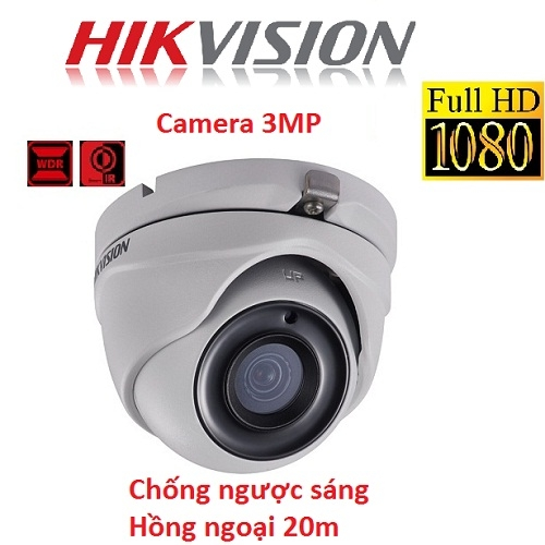 CAMERA HIKVISION 3MP DS-2CE56F7T-ITM CHỐNG NGƯỢC SÁNG