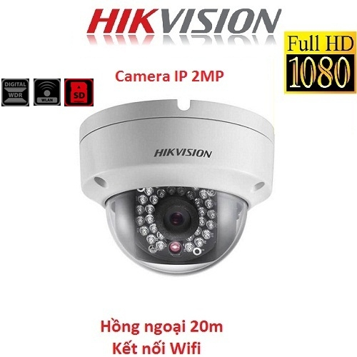 CAMERA IP HIKVISION 2MP DS-2CD2120F-IW KẾT NỐI WIFI