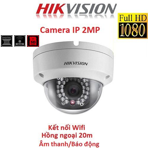 CAMERA IP HIKVISION 2MP DS-2CD2120F-IWS KẾT NỐI WIFI