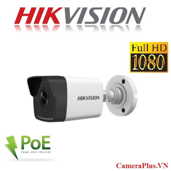 CAMERA IP HIKVISION 2MP DS-2CD1021-I H264+ HỖ TRỢ PoE