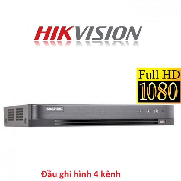 ĐẦU 4 HIKVISION FULL HD 3MP DS-7204HQHI-K1