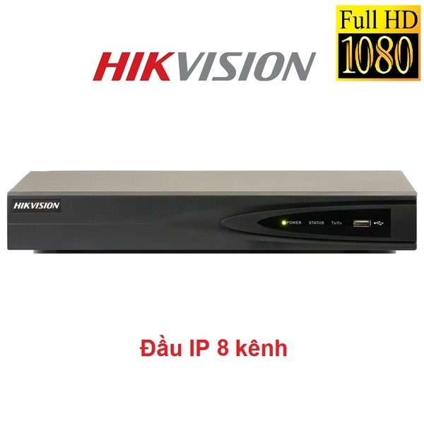 ĐẦU 8 IP HIKVISION 2MP DS-7608NI-E1