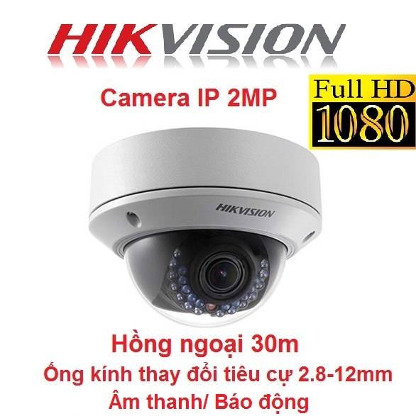 CAMERA IP HIKVISION 2MP DS-2CD2720F-IS