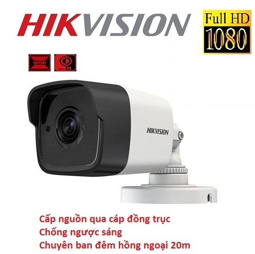 CAMERA HIKVISION 2MP DS-2CE16D8T-ITE CHỐNG NGƯỢC SÁNG,POC