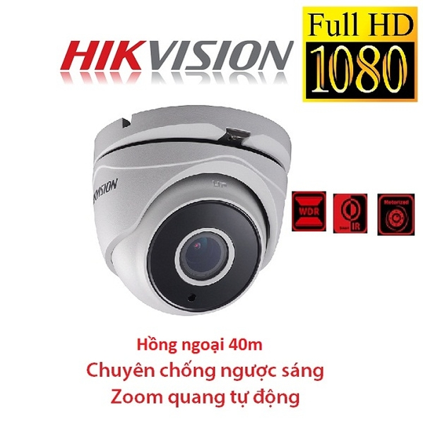 CAMERA HIKVISION 2MP DS-2CE56D7T-IT3Z ZOOM FX