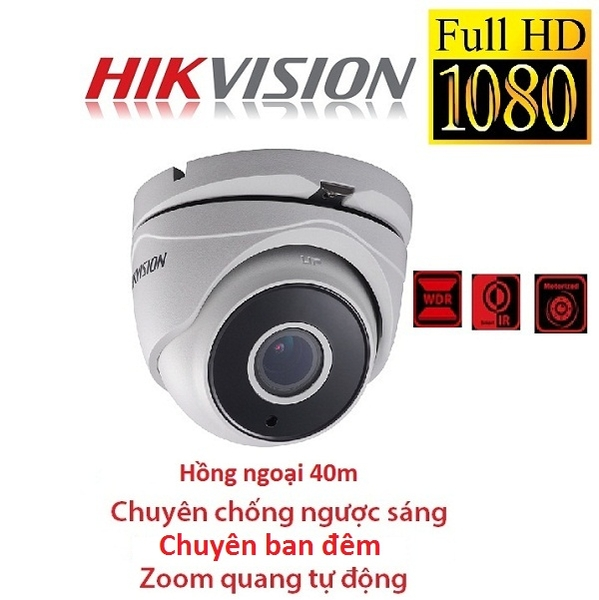 CAMERA HIKVISION 2MP DS-2CE56D8T-IT3Z CHỐNG NGƯỢC SÁNG ZOOM FX