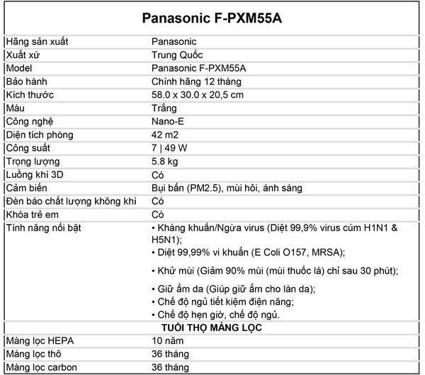 Kết quả hình ảnh cho F-PXM55A