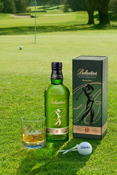 Rượu Ballantine's 17 Golf Limited Edition
