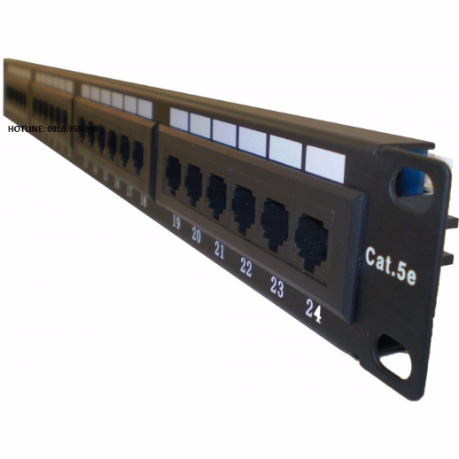 Thanh đấu nối Patch panel AMP 24 port CAT5e