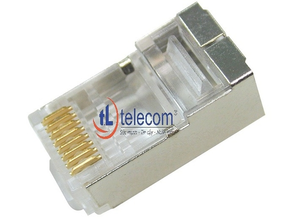 Đầu nối RJ-45 Alantek Cat6 Shield Plugs (22-24 AWG)