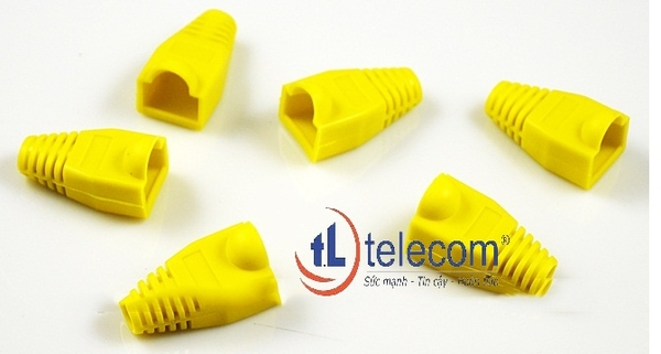 Alantek RJ45 Rubber Boot (Yellow) Part Number: 302-091100-00YL