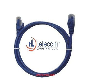 Patch cord Alantek Cat6 UTP 2.1 mét (Blue) Part Number: 302-4MU046-FTBU