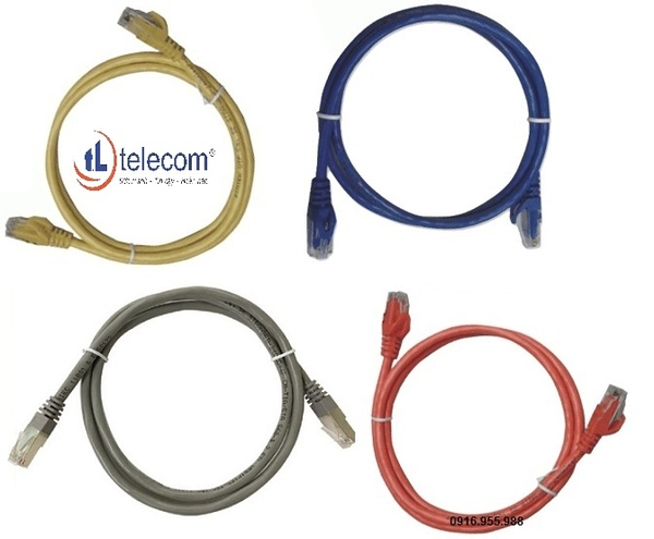 Patch cord Alantek Cat6 UTP 3 mét