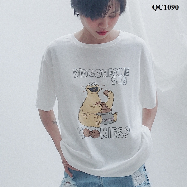 QC1090 - Aó thun QC Did some one say - sỉ 170k