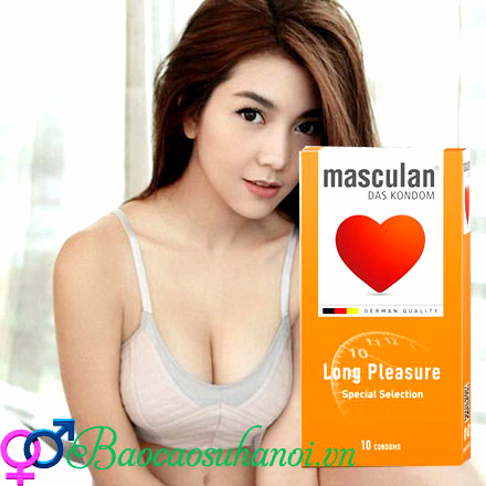bao cao su masculan long pleasure