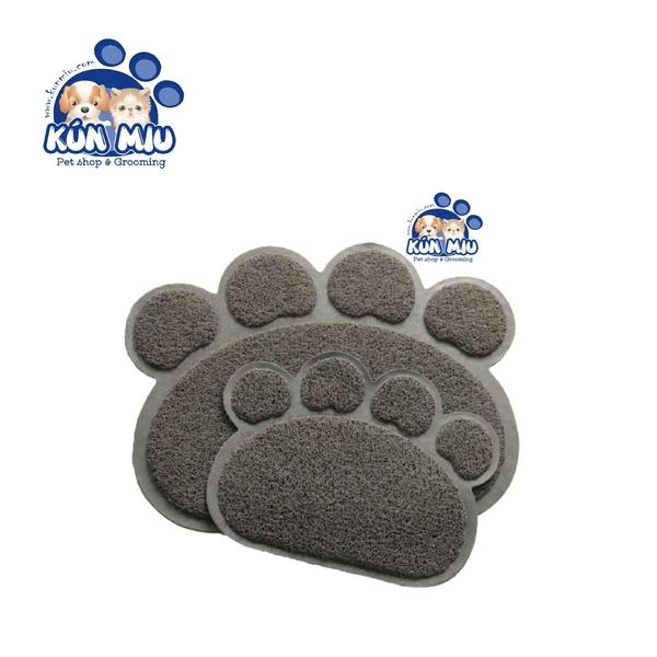 Thảm lót khay vệ sinh chó mèo hình bàn chân 30x40cm