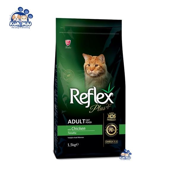 Thức ăn cho mèo trưởng thành Reflex PLUS Adult