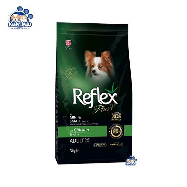 Thức ăn cho chó trưởng thành REFLEX PLUS MINI & SMALL BREED ADULT