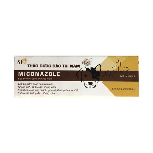 Xịt trị nấm thảo dược cho chó mèo Miconazole