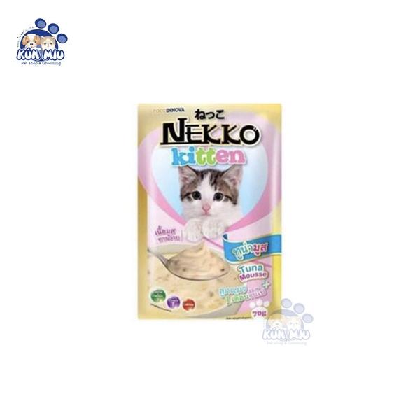 Pate cho mèo con Nekko 70g