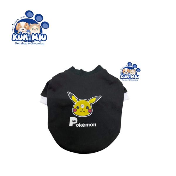 Áo nỉ da cá cho chó mèo (pokemon, lợn hồng)