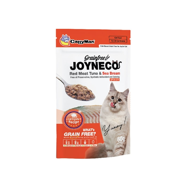 Pate cho mèo CattyMan Joyneco 60g