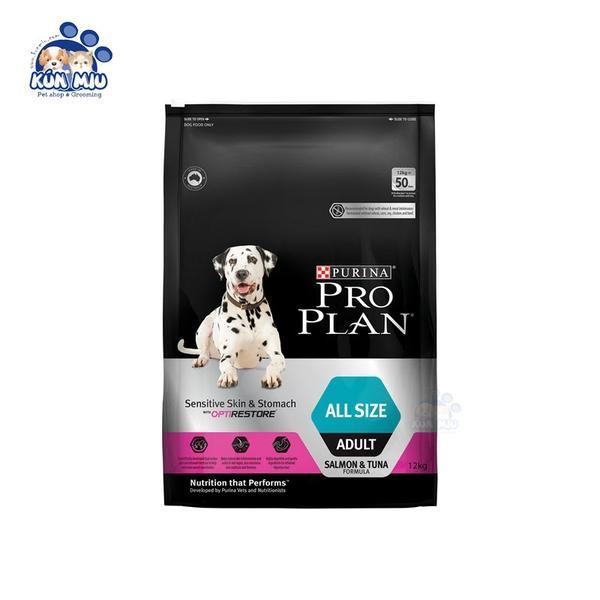 Thức ăn cho chó Purina ProPlan All size Sensitive Skin & Stomach 2.5kg