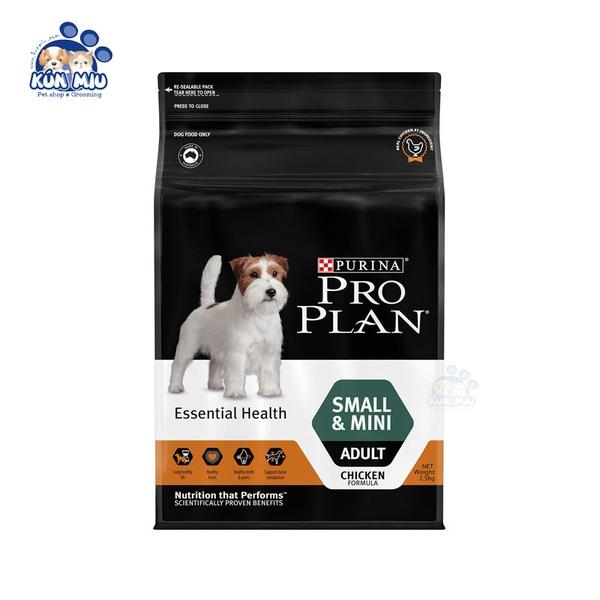 Thức ăn cho chó Purina ProPlan Small & Mini Adult 2.5kg