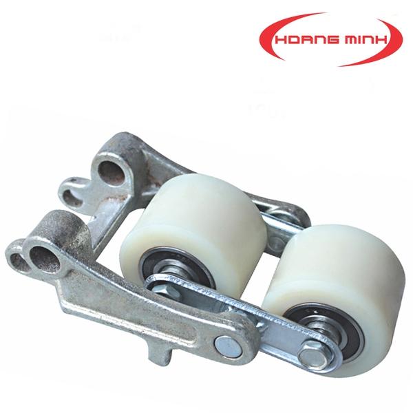 Bộ bánh xe Nylon 80x70 dùng cho môi trường nước