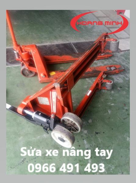 sửa xe nâng tay OPK