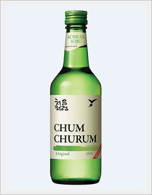 Rượu Soju - chum churum - 처음처럼