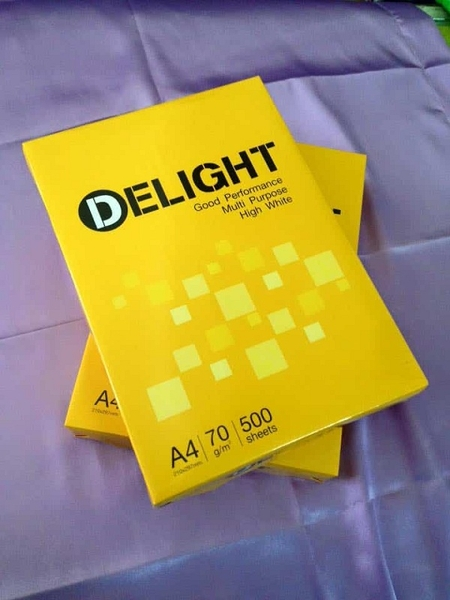 Giấy A4 Delight A4-70gsm