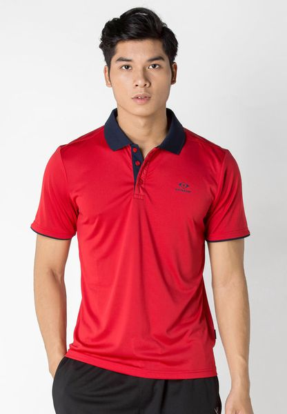 áo Tennis Nam Dunlop - DATEF7001-1C-RED
