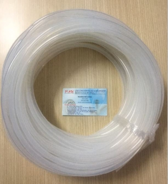 ỐNG SILICONE TRẮNG TRONG CHỊU NHIỆT