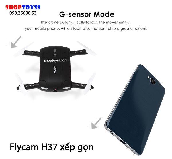 may bay flycam jjrc h37 hd 720 shoptoy 1