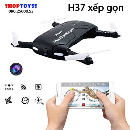 may bay flycam jjrc h37 hd 720